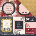 Kaisercraft - Ma Cherie Collection - 12 x 12 Double Sided Paper - Fine