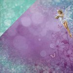 Kaisercraft - Fairy Dust Collection - 12 x 12 Double Sided Paper - Pixie