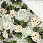 Kaisercraft - Provincial Collection - 12 x 12 Double Sided Paper - Hydrangea