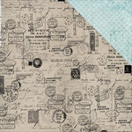 Kaisercraft - Provincial Collection - 12 x 12 Double Sided Paper - Mail