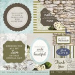 Kaisercraft - Provincial Collection - 12 x 12 Double Sided Paper - Cobblestone