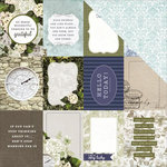 Kaisercraft - Provincial Collection - 12 x 12 Double Sided Paper - Willow