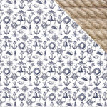Kaisercraft - Sail Away Collection - 12 x 12 Double Sided Paper - Nautical