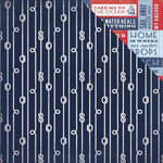 Kaisercraft - Sail Away Collection - 12 x 12 Double Sided Paper - Rope