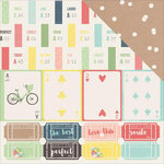 Kaisercraft - Finders Keepers Collection - 12 x 12 Double Sided Paper - Admit One
