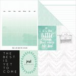 Kaisercraft - My Year, My Story Collection - 12 x 12 Double Sided Paper - Minty