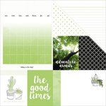 Kaisercraft - My Year, My Story Collection - 12 x 12 Double Sided Paper - Cactus
