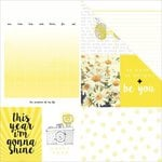 Kaisercraft - My Year, My Story Collection - 12 x 12 Double Sided Paper - Shine
