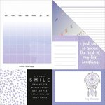 Kaisercraft - My Year, My Story Collection - 12 x 12 Double Sided Paper - Lilac