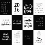 Kaisercraft - My Year, My Story Collection - 12 x 12 Double Sided Paper - Good and Bad