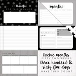Kaisercraft - My Year, My Story Collection - 12 x 12 Double Sided Paper - To Do