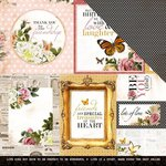 Kaisercraft - Treasured Moments Collection - 12 x 12 Double Sided Paper - Ponder