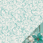Kaisercraft - Sea Breeze Collection - 12 x 12 Double Sided Paper - Swirl