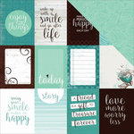 Kaisercraft - Sea Breeze Collection - 12 x 12 Double Sided Paper - Whirlpool