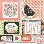 Kaisercraft - True Love Collection - 12 x 12 Double Sided Paper - My Dearest