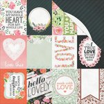 Kaisercraft - True Love Collection - 12 x 12 Double Sided Paper - My Soulmate