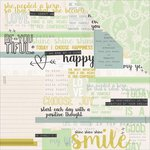 Kaisercraft - Hashtag Me Collection - 12 x 12 Double Sided Paper - Belief
