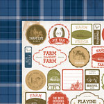 Kaisercraft - Old Mac Collection - 12 x 12 Double Sided Paper - Flanno