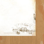 Kaisercraft - Old Mac Collection - 12 x 12 Double Sided Paper - Acres