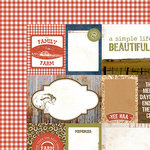 Kaisercraft - Old Mac Collection - 12 x 12 Double Sided Paper - Homegrown