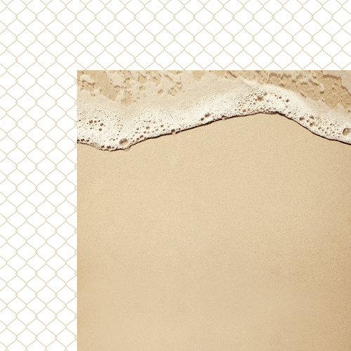 Kaisercraft - Coastal Escape Collection - 12 x 12 Double Sided Paper - Shoreline