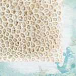 Kaisercraft - Coastal Escape Collection - 12 x 12 Double Sided Paper - Coral