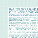 Kaisercraft - Coastal Escape Collection - 12 x 12 Double Sided Paper - Discovery