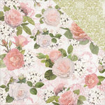 Kaisercraft - Cottage Rose Collection - 12 x 12 Double Sided Paper - Floral Bouquet