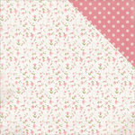 Kaisercraft - Cottage Rose Collection - 12 x 12 Double Sided Paper - Wallpaper