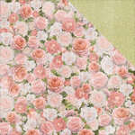 Kaisercraft - Cottage Rose Collection - 12 x 12 Double Sided Paper - Garden