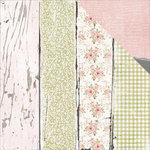 Kaisercraft - Cottage Rose Collection - 12 x 12 Double Sided Paper - Weatherboards