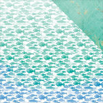 Kaisercraft - Mermaid Tails Collection - 12 x 12 Double Sided Paper - Aquarium