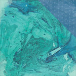 Kaisercraft - Mermaid Tails Collection - 12 x 12 Double Sided Paper - Marine