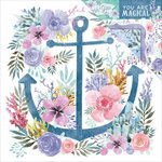 Kaisercraft - Mermaid Tails Collection - 12 x 12 Double Sided Paper - Deep Sea