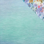 Kaisercraft - Mermaid Tails Collection - 12 x 12 Double Sided Paper - Ripples