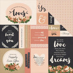 Kaisercraft - Always and Forever Collection - 12 x 12 Double Sided Paper - Endless Love
