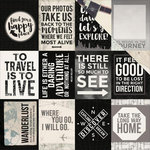 Kaisercraft - Just Landed Collection - 12 x 12 Double Sided Paper - Passport
