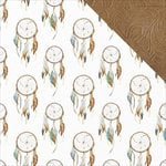 Kaisercraft - Boho Dreams Collection - 12 x 12 Double Sided Paper - Dreamcatcher