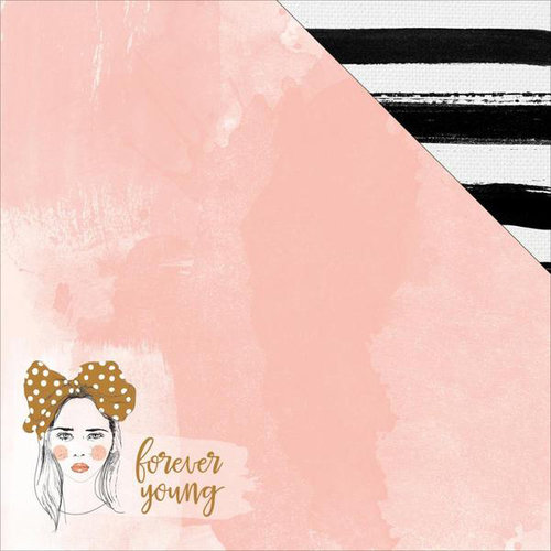 Kaisercraft - Boho Dreams Collection - 12 x 12 Double Sided Paper - Young
