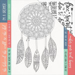 Kaisercraft - Boho Dreams Collection - 12 x 12 Double Sided Paper - Daydreamer