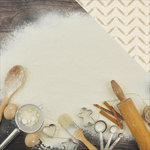Kaisercraft - Bon Appetit Collection - 12 x 12 Double Sided Paper - Bake