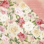 Kaisercraft - Mademoiselle Collection - 12 x 12 Double Sided Paper - Floral Spray