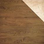 Kaisercraft - Mademoiselle Collection - 12 x 12 Double Sided Paper - Mahogany
