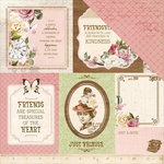 Kaisercraft - Mademoiselle Collection - 12 x 12 Double Sided Paper - Couture