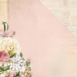 Kaisercraft - Mademoiselle Collection - 12 x 12 Double Sided Paper - Timepiece