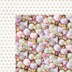 Kaisercraft - Christmas Wishes Collection - 12 x 12 Double Sided Paper - Pearlescent