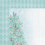 Kaisercraft - Christmas Wishes Collection - 12 x 12 Double Sided Paper - Fir Tree