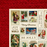 Kaisercraft - Silent Night Collection - Christmas - 12 x 12 Double Sided Paper - Family Time