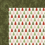 Kaisercraft - Silent Night Collection - Christmas - 12 x 12 Double Sided Paper - Trim the Tree