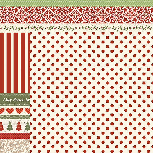 Kaisercraft - Silent Night Collection - Christmas - 12 x 12 Double Sided Paper - Wrap the Presents